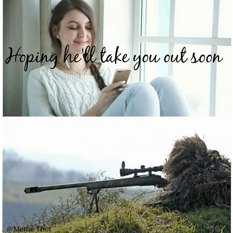 Sniper spotado - meme
