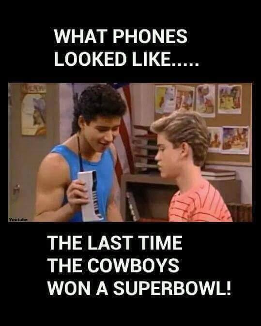 How bout em cowboys - meme