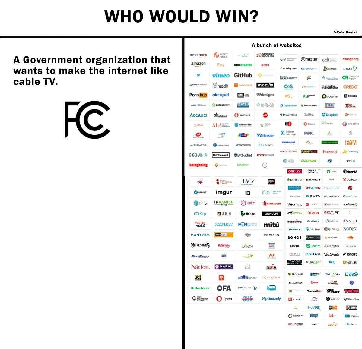 Net neutrality - meme