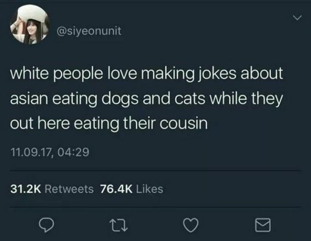 But dogs are more special than cousins - meme