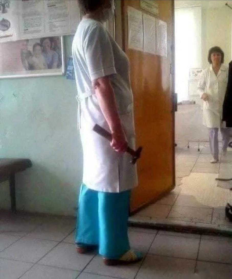 Russian anestesia.. - meme