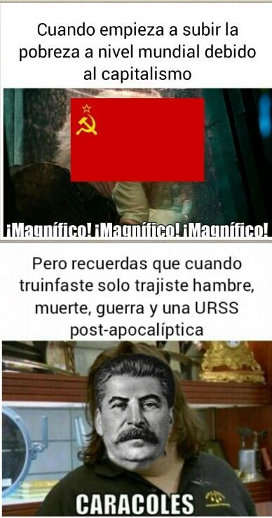 Historia del Comunismo - meme