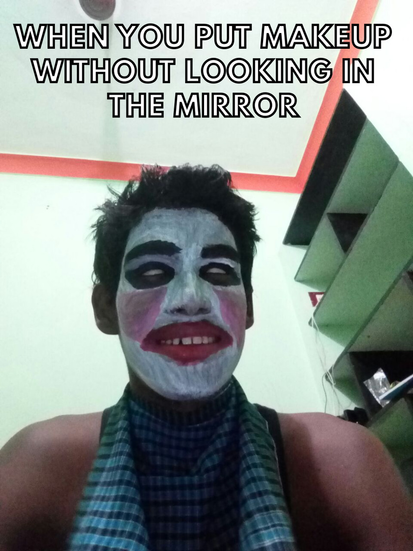 Use the MIRROR! - meme