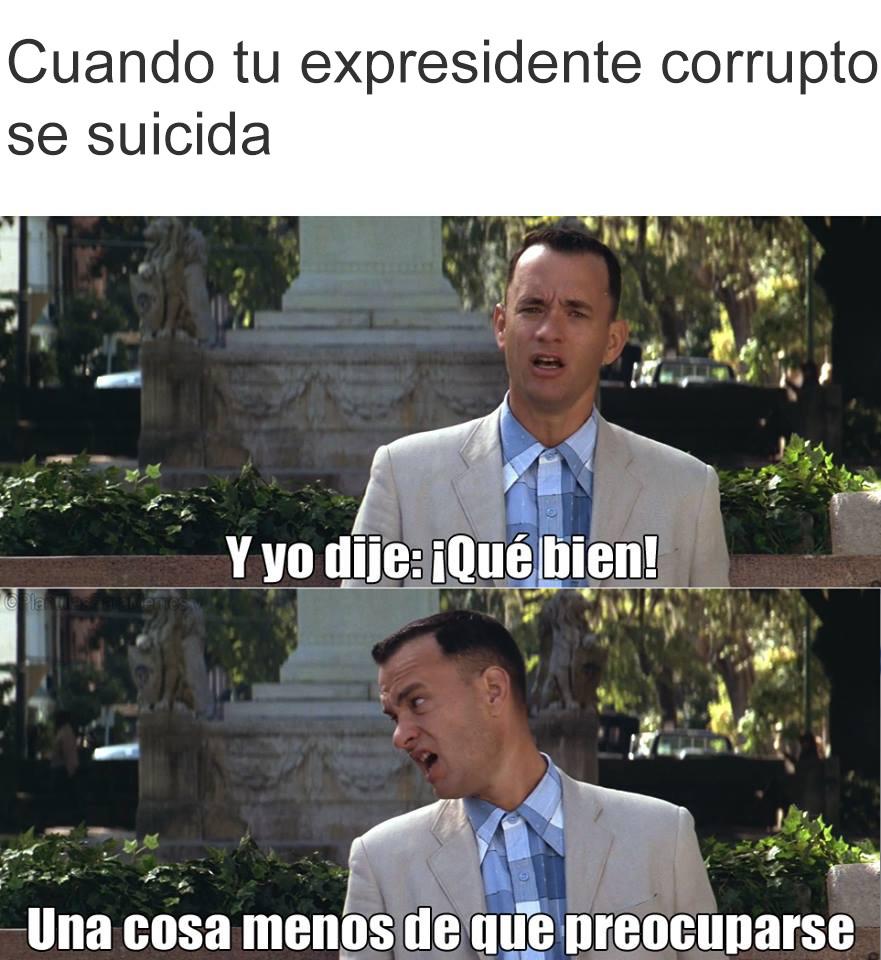 Se murió el Alan Garcia - meme