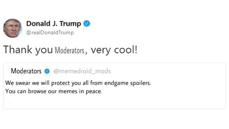 Thank you, Moderators! - meme