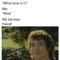 My German friend
