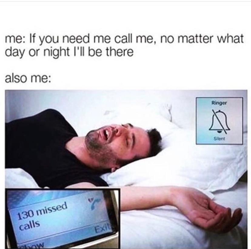 I mean I need my sleep though - meme