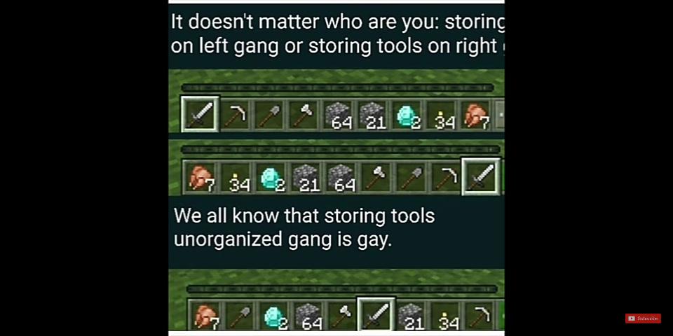 I'm left tool gang - meme