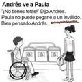 Bien hecho Andrés