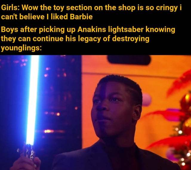 At the toy section - meme