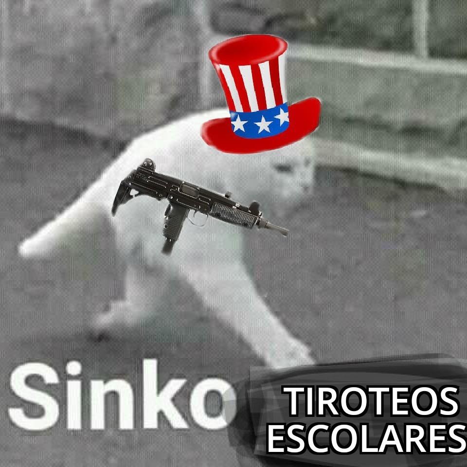 Sinko Tiroteos Escolares - meme