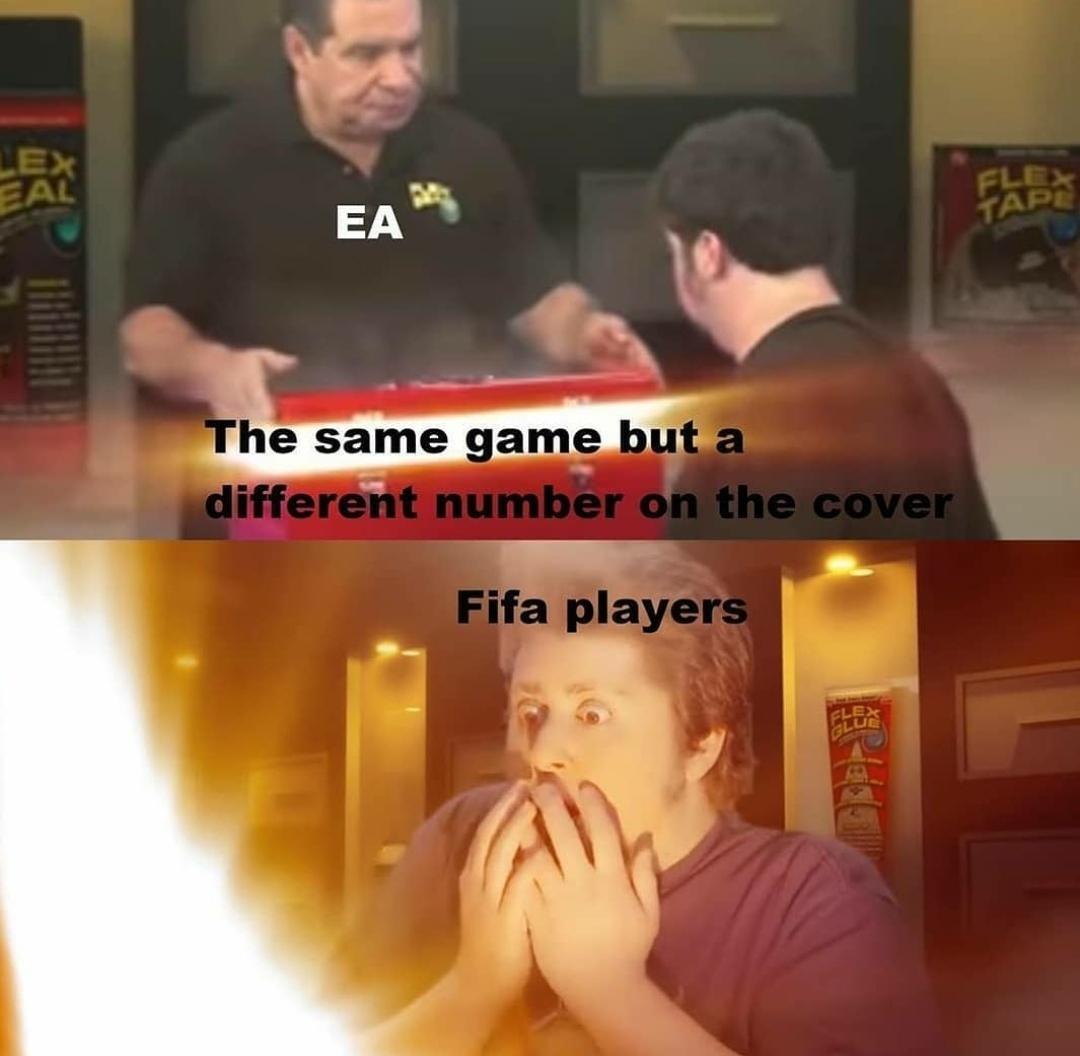 Avouez que c'est vrai les joueurs de fifa - meme