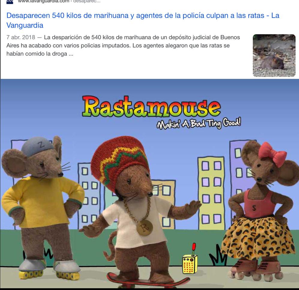 Rastamouse - meme