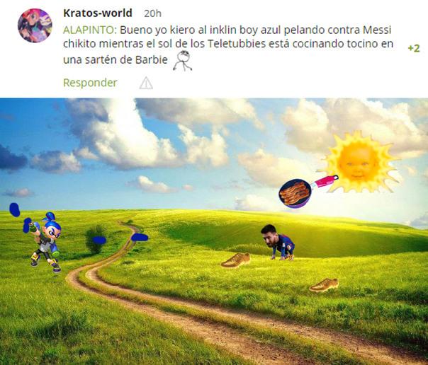 Solicitado por Kratos-World *Voy a hacer un aviso en los comentarios si es aceptado* - meme