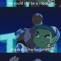 Teen Titans gettin real