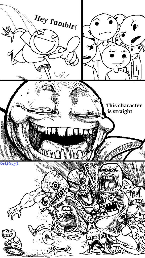 Tumblr in a nutshell - meme