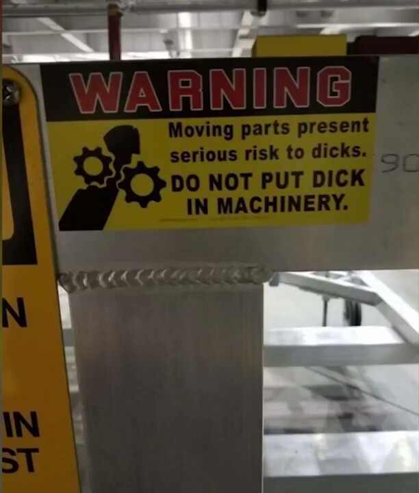 Instructions not clear... warning label was, though. - meme