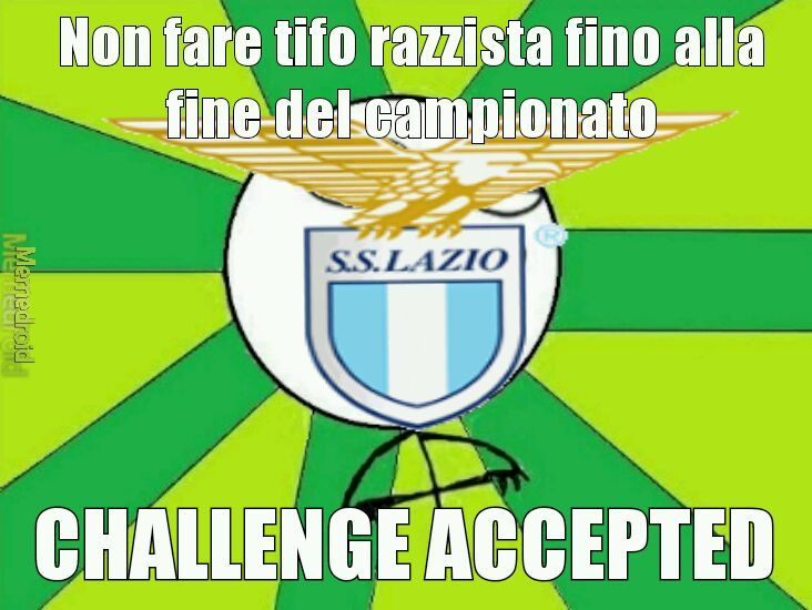Ciao laziali! - meme
