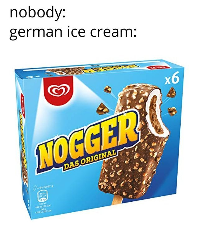 German Ice Cream - meme