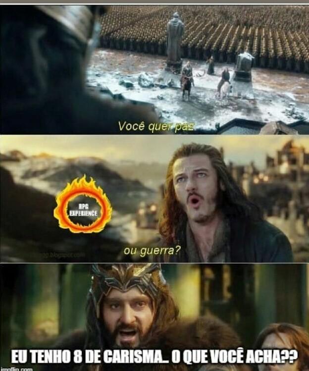 O Hobbit - meme