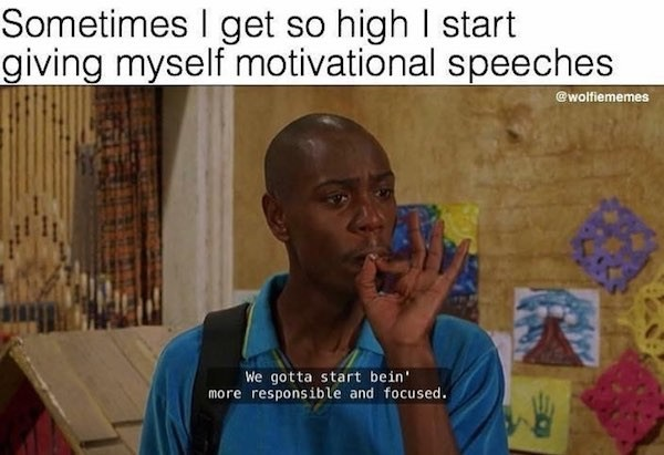 Wanna get high? - meme