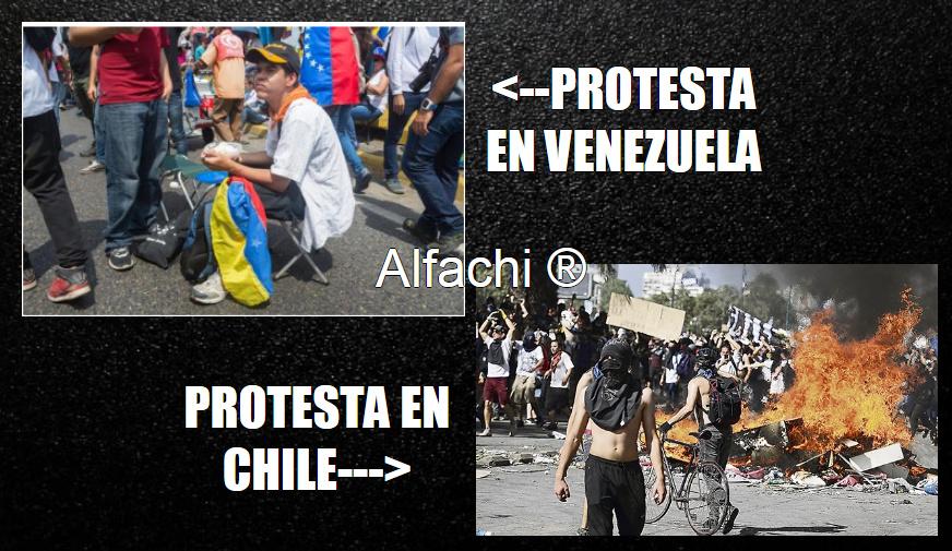 protestas en venezuela - meme