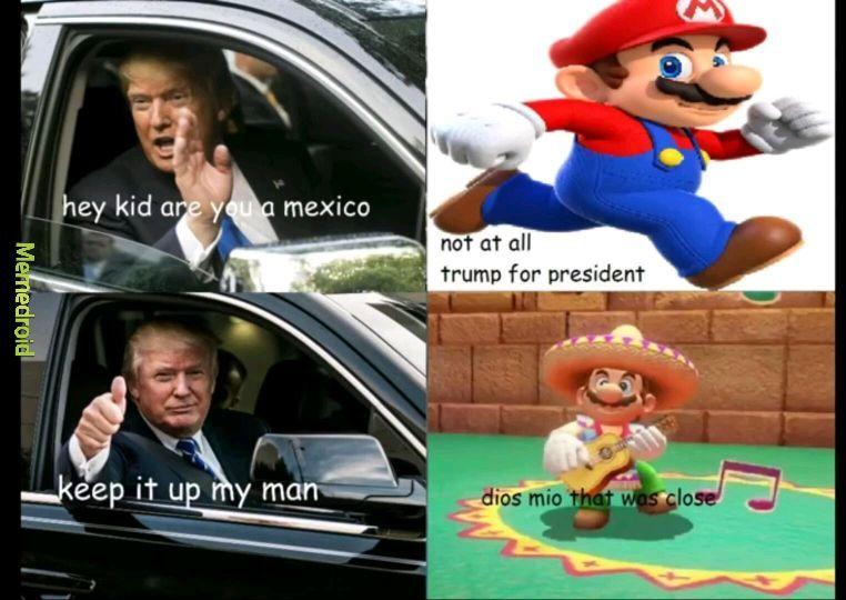 O mario - meme