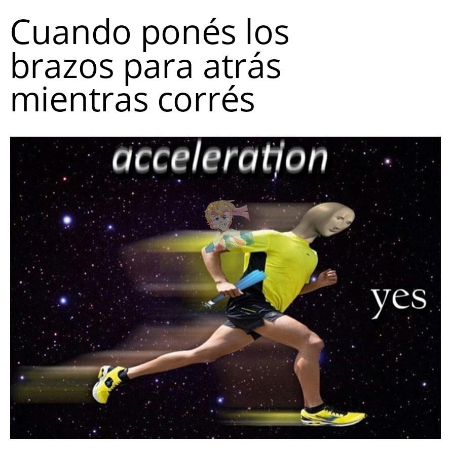 A lo Sonic - meme