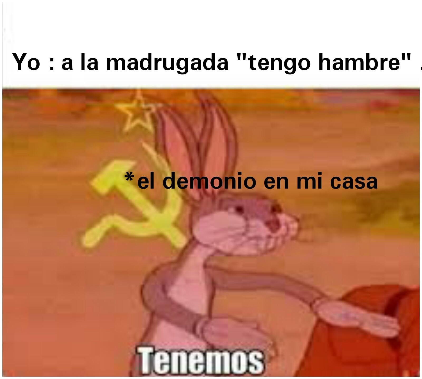 Tenemos Bugs Comunista - meme