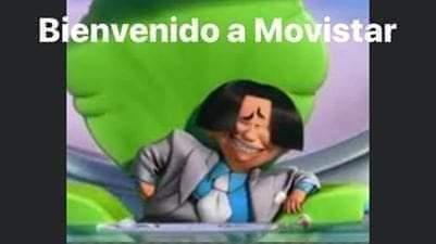 Bienvenido a Movistar - meme