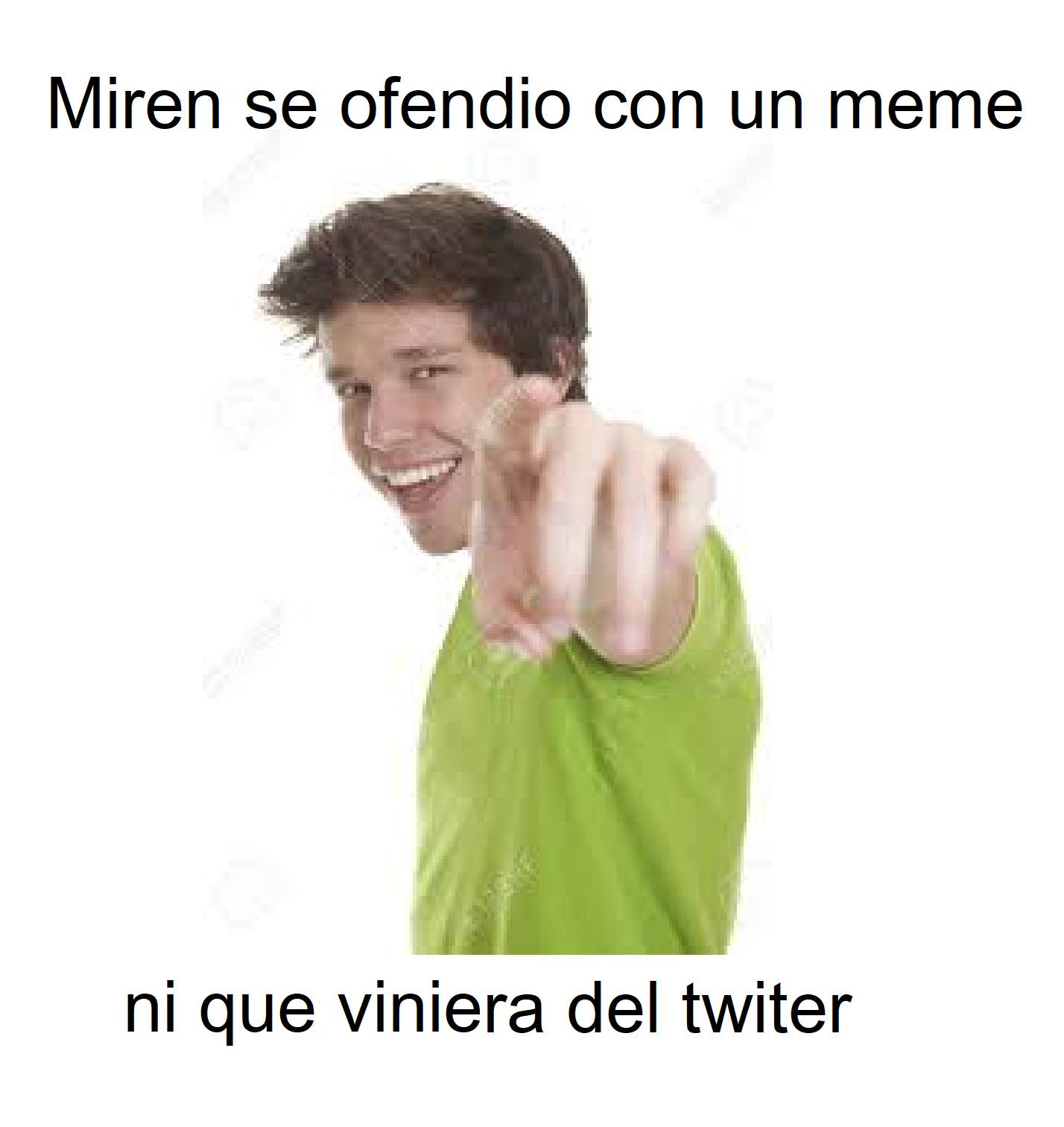 se ofendio - meme