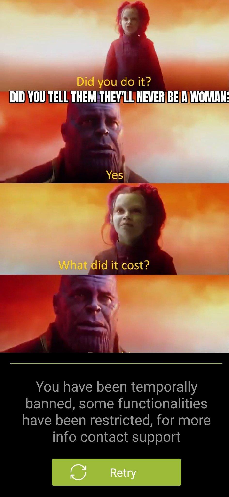 What did I miss? - meme