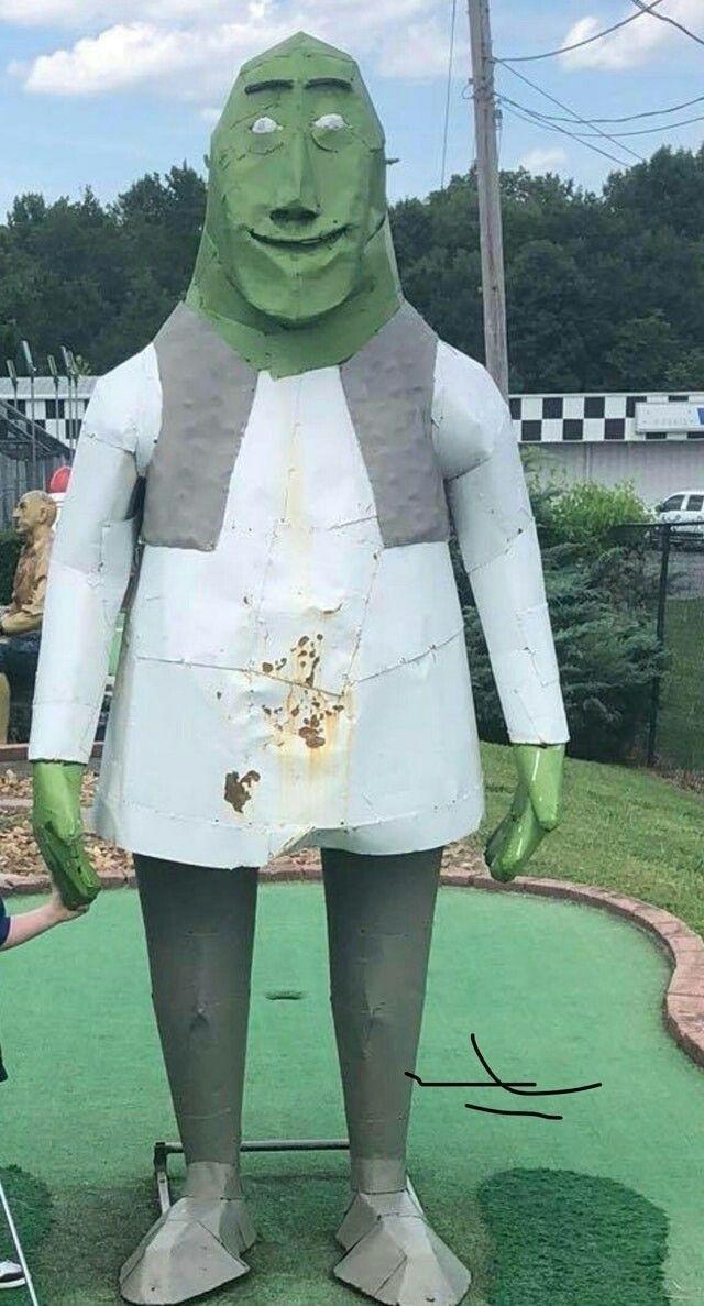 Nooooo Shrek - meme