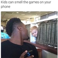 Title has games on the phone