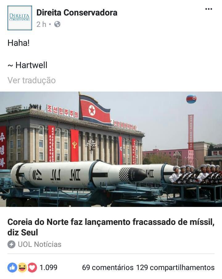 Coréia do Louc... Digo, do Norte - meme