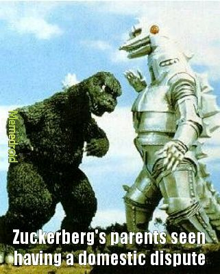 His parents are a robot AND a lizard - meme