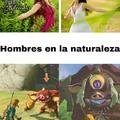 Hombres en la naturaleza