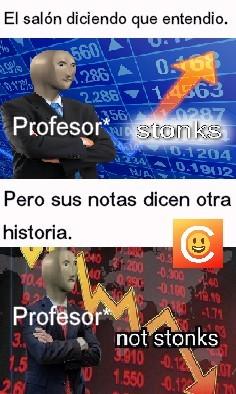 Si profesor. - meme