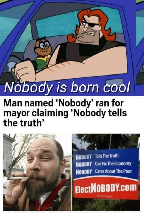 Nobody will like this meme....