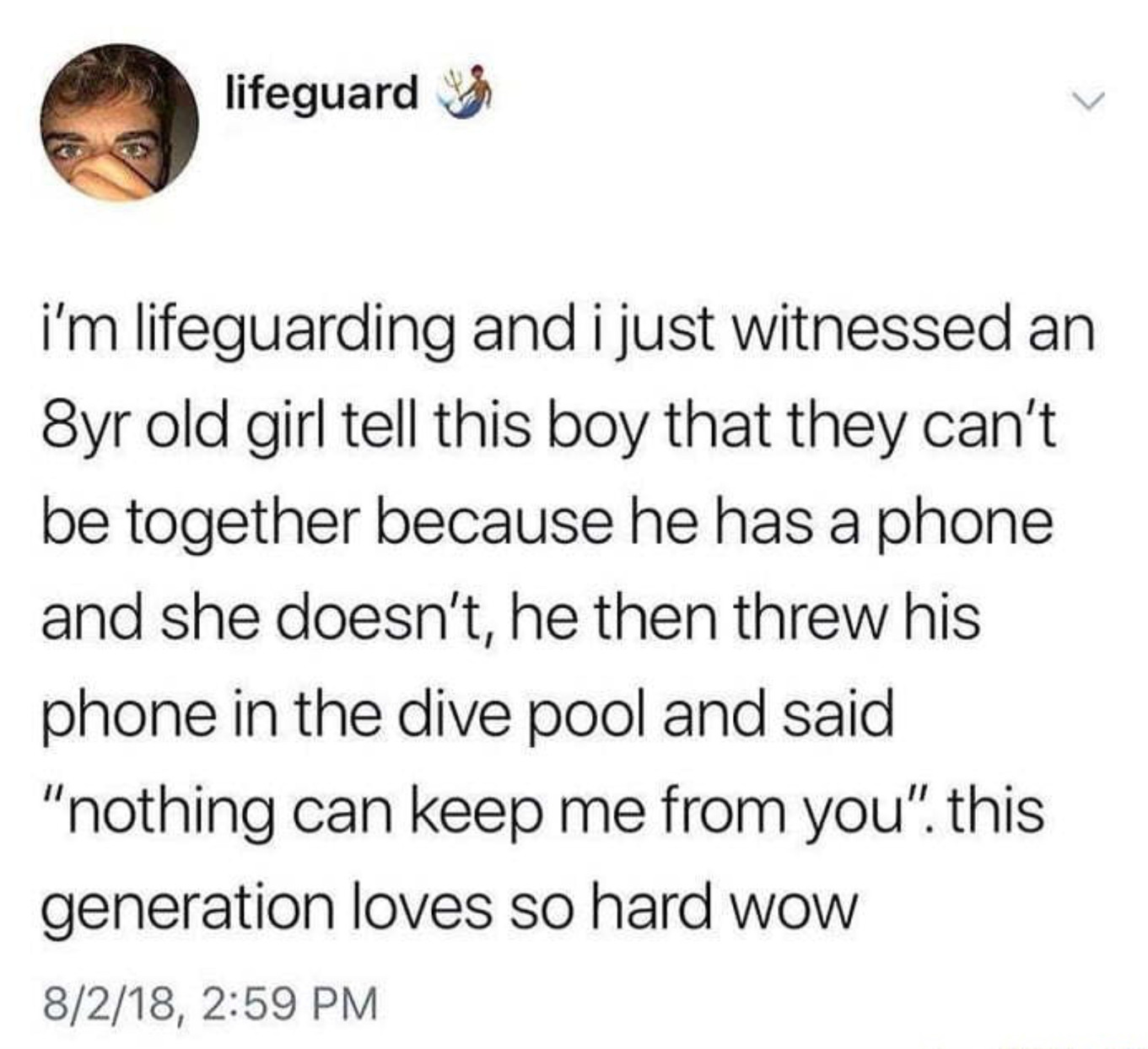 8 year olds fallin in love and i'm still alone... - meme