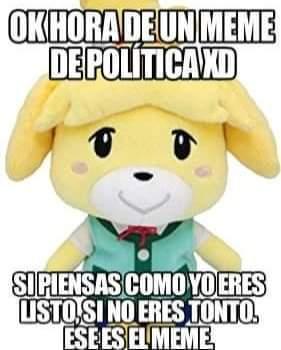 Hora de meme político