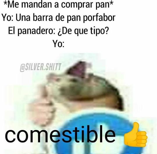 Comestible  - meme