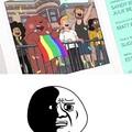 Odio a los osos gays