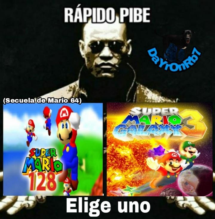 Mario sunshine 2 esta ofendido - meme