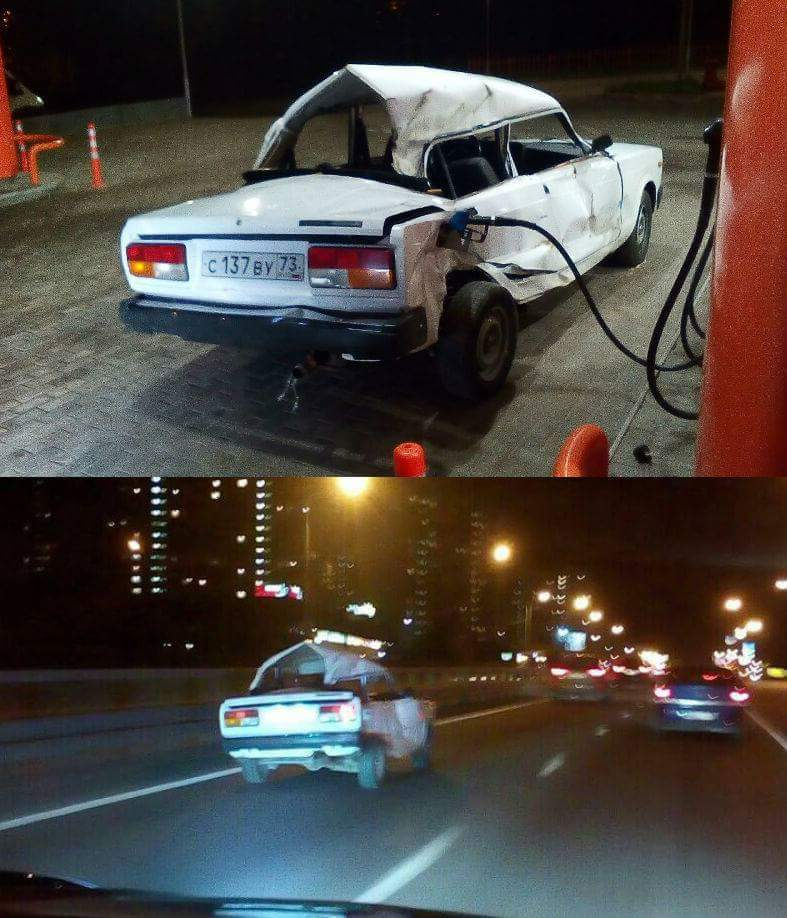 Lada can not be stopped - meme