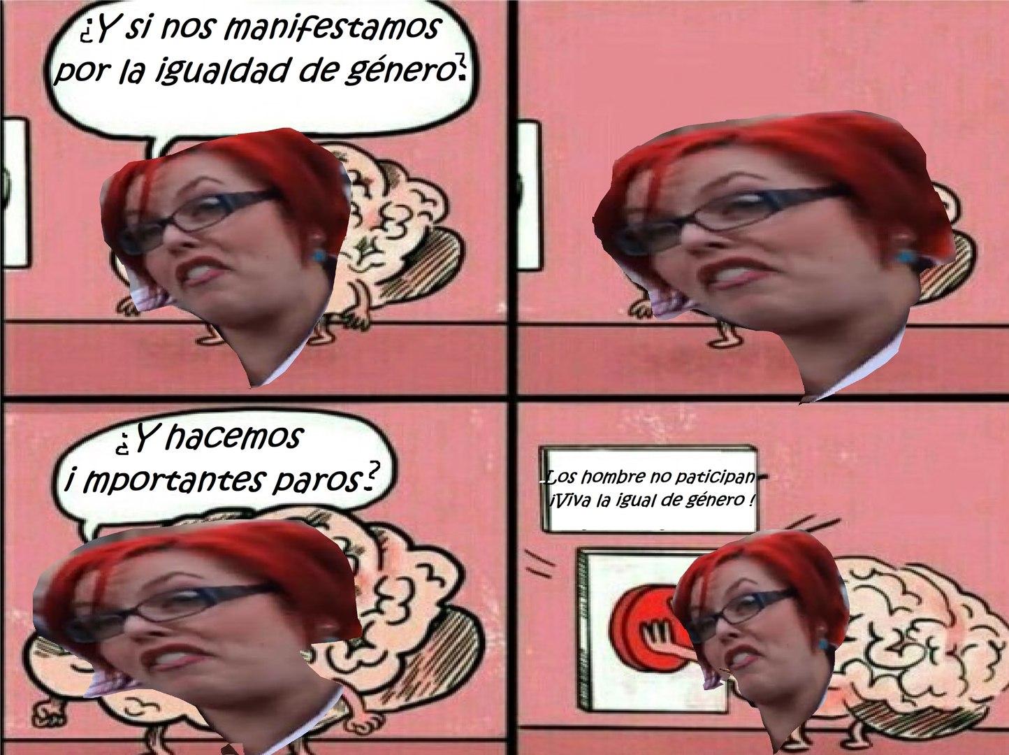 Lógica Feminazi - meme