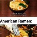 Japanese Ramen - American Ramen