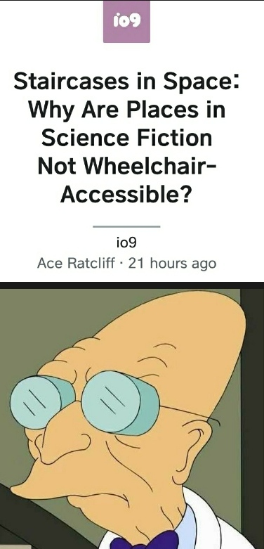 Disability has been Disabled in the Future - meme
