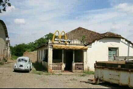 McDonalds no interior - meme