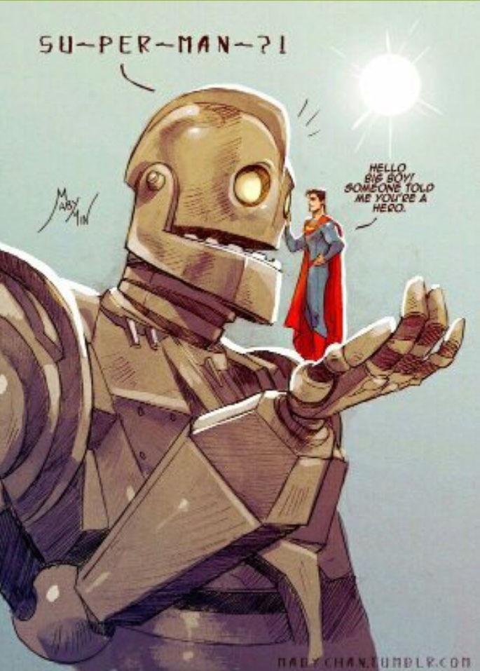 Can someone tell me who the robot is please? I'm more of an avengers fan. - meme